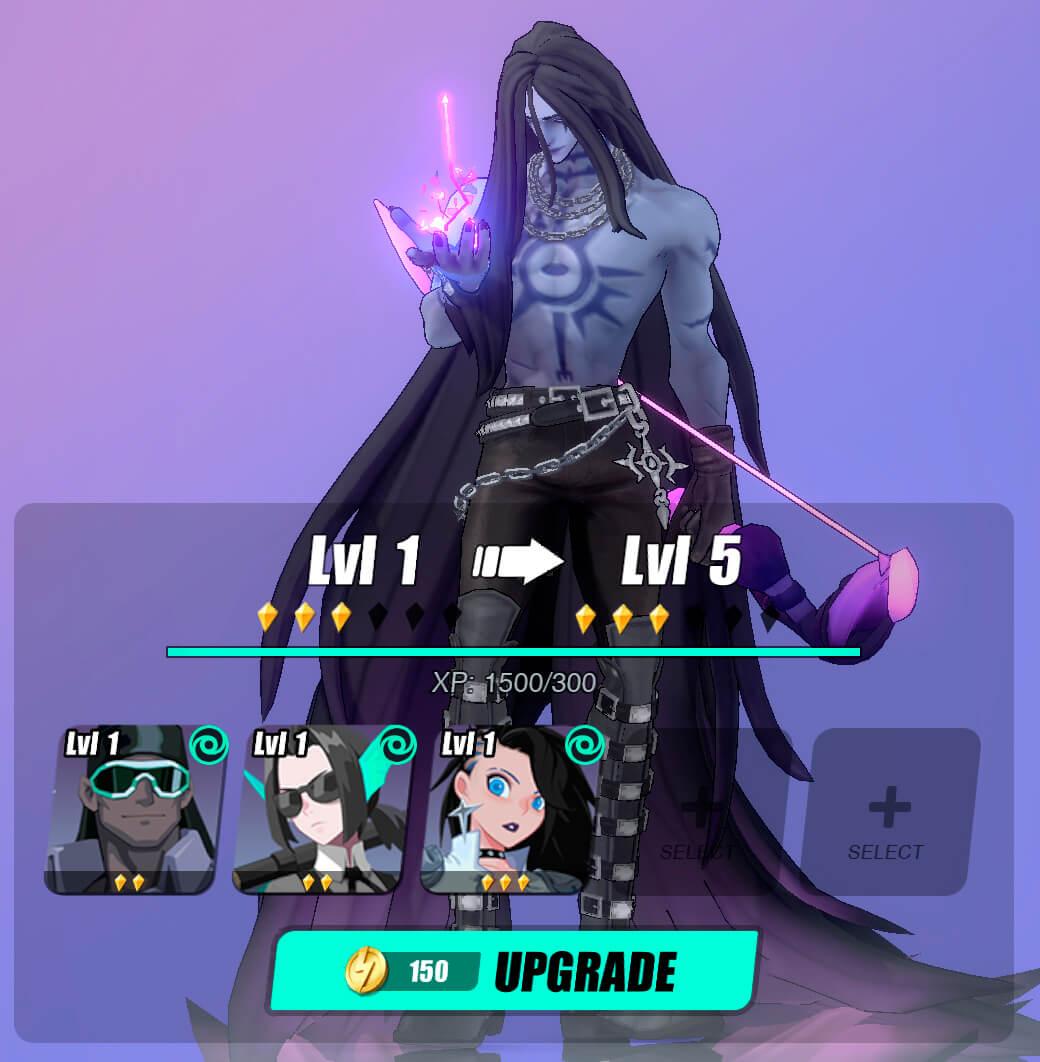 level up esper