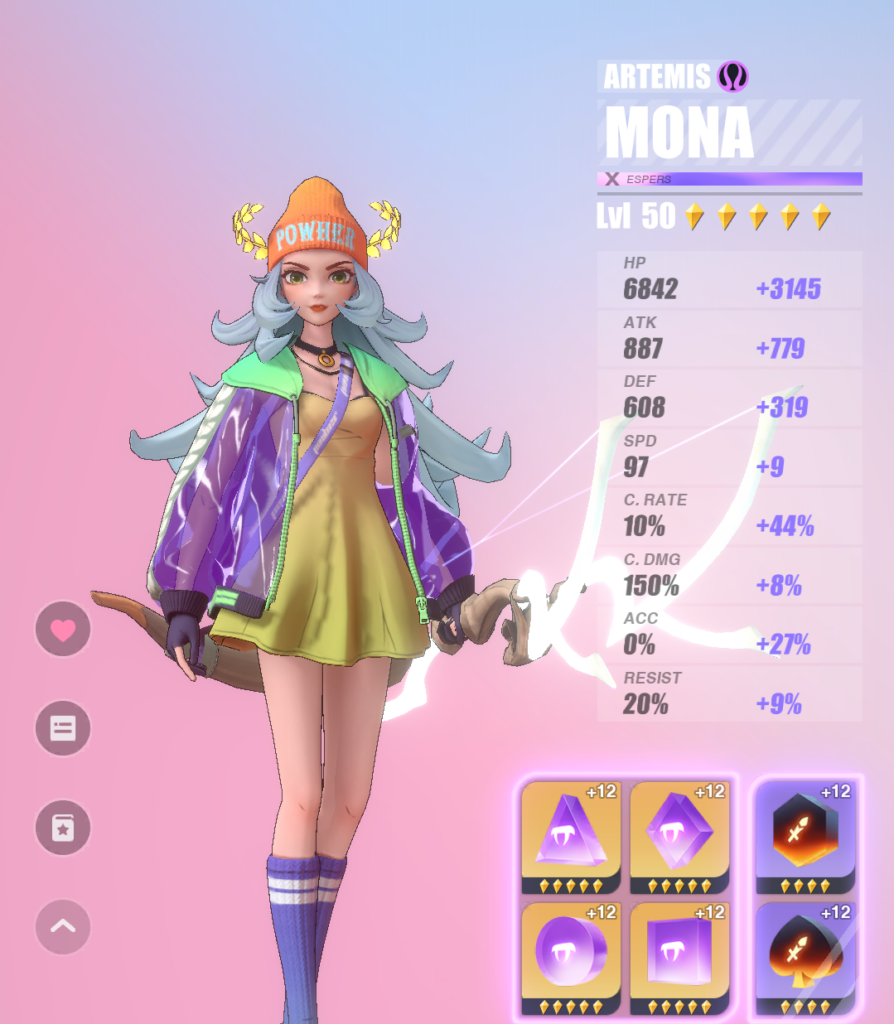 mona early game