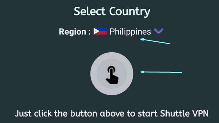 set country in VPN to Philippines to download Dislyte